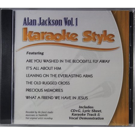 Alan Jackson Volume 1 Daywind Karaoke Style New Cd G 6 Songs