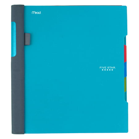 Five Star Advance Notebook, 3 Subject, College Ruled, Assorted Colors  (08285)