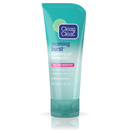 Clarifying Gel Facial Moisturizer - Clean & Clear Morning Burst Hydrating Gel Face Moisturizer, 3 oz