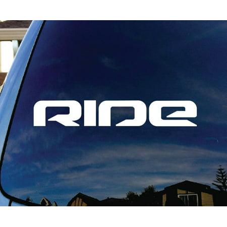 Ride Snowboard Skateboard Car Window Vinyl Decal Sticker 6