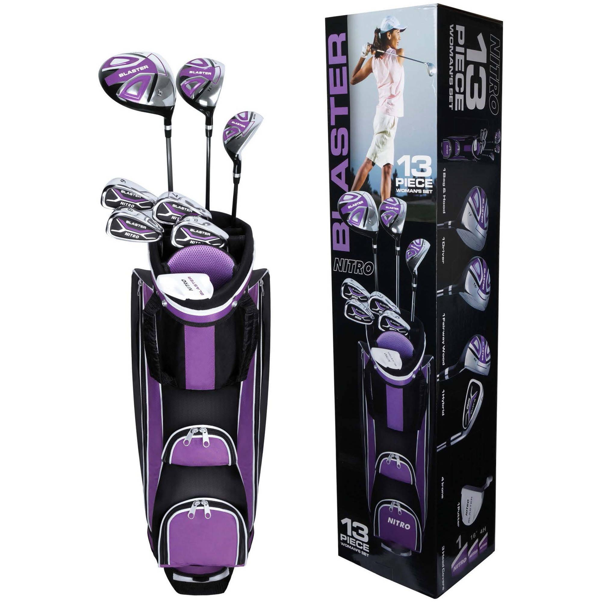 Nitro Golf Set, Ladies, 13-Piece by Nitro