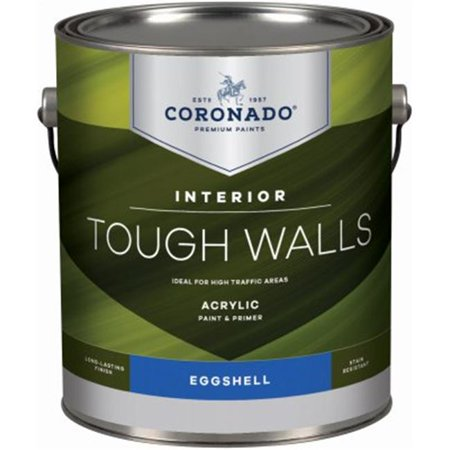Benjamin Moore & Coronado 236104 1 gal Tough Walls Eggshell Interior Paint,
