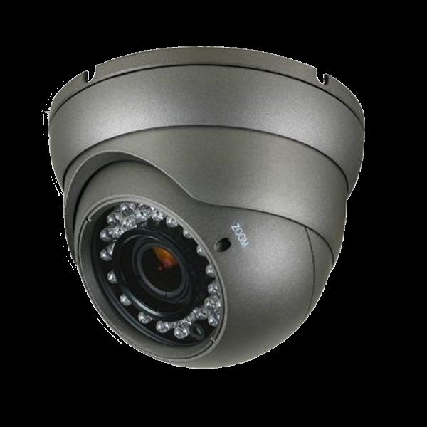 CMHT2023RB Platinum HD-TVI Varifocal Turret Camera 2.1MP - Black