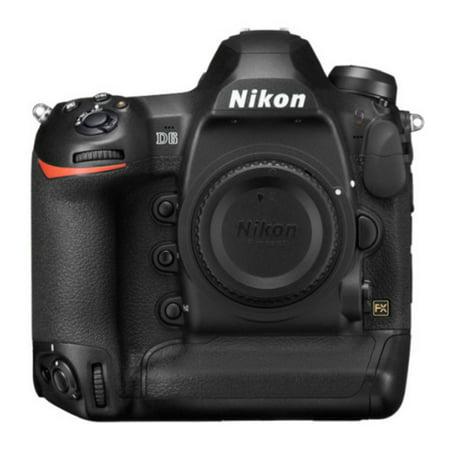 Nikon D6 Digital SLR Camera Body FX-Format Professional DSLR 20.8MP 4K UHD Video