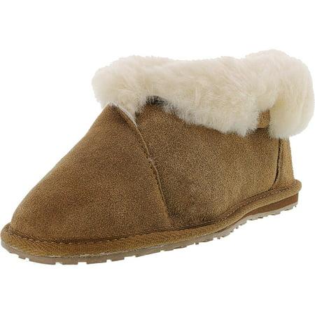 Emu Women's Talinga Chestnut Ankle-High Sheepskin Flat Shoe - 7M