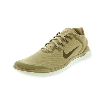 8300e1d9452a Nike Men s Free Rn 2018 Sun Neutral Olive   Medium Ankle-High Fabric Running  Shoe ...