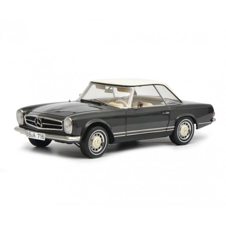 Mercedes Benz 280 SL Dark Gray Limited Edition to 750 pieces Worldwide 1/18 Diecast Model Car  by Schuco