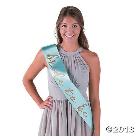 Mint Green I Do Bride to Be Bachelorette Party Sash