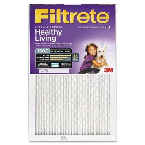 3M Filtrete - Filtrete 1250-1500 Ultra-Advanced Allergen Filter by Pack of - 2