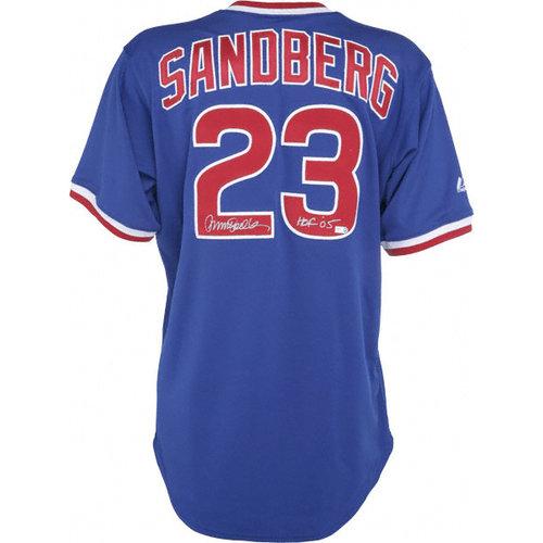 MLB - Ryne Sandberg Autographed Jersey