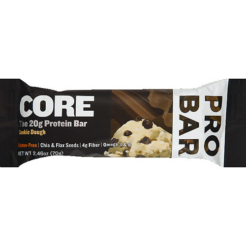 ProBar Core Protein Bar, Cookie Dough, 20g Protein, 12 Ct