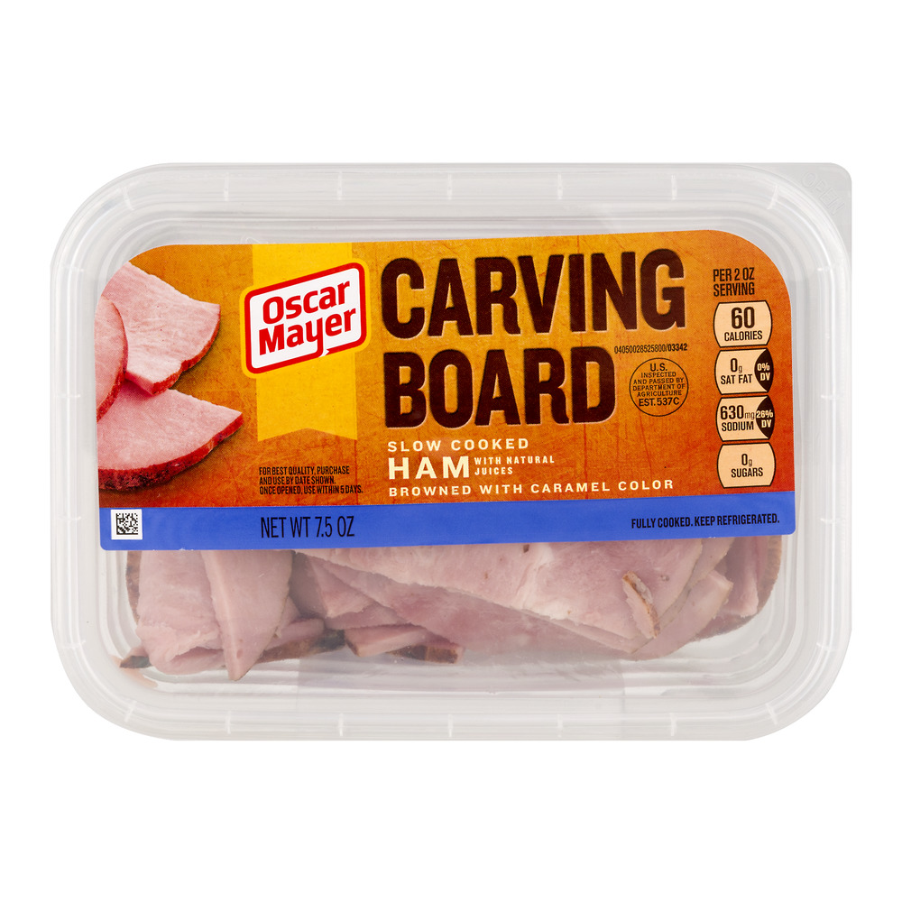Oscar Mayer Carving Board Slow Cooked Ham, 7.5 OZ
