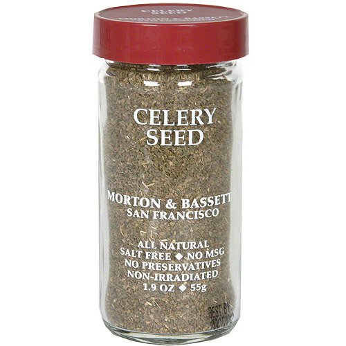 Morton & Bassett Spices Celery Seed, 1.9 oz (Pack of 3)