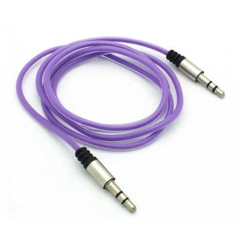 """Purple Aux Cable Car Stereo Wire Compatible With Microsoft Surface Pro 4 3 2, Go (10"""") - Motorola One, Moto Z2 Play X4 G6 Play G5 PLUS (XT1687) G4 Play E5 Play E4 PLUS, Droid Maxx 2 R1K"""