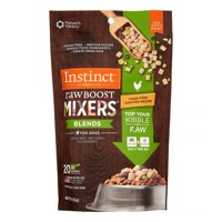 Instinct Freeze Dried Raw Boost Mixers Blends Grain-Free Cage-Free Chicken Recipe All Natural Dog Food Topper by Nature's Variety, 5.5 oz. Bag