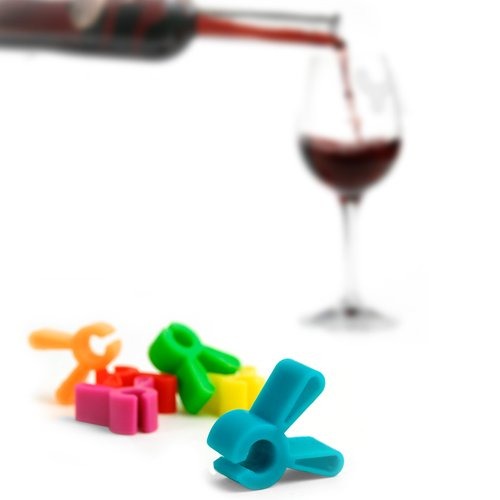 Houdini Clip-on Wine Charms