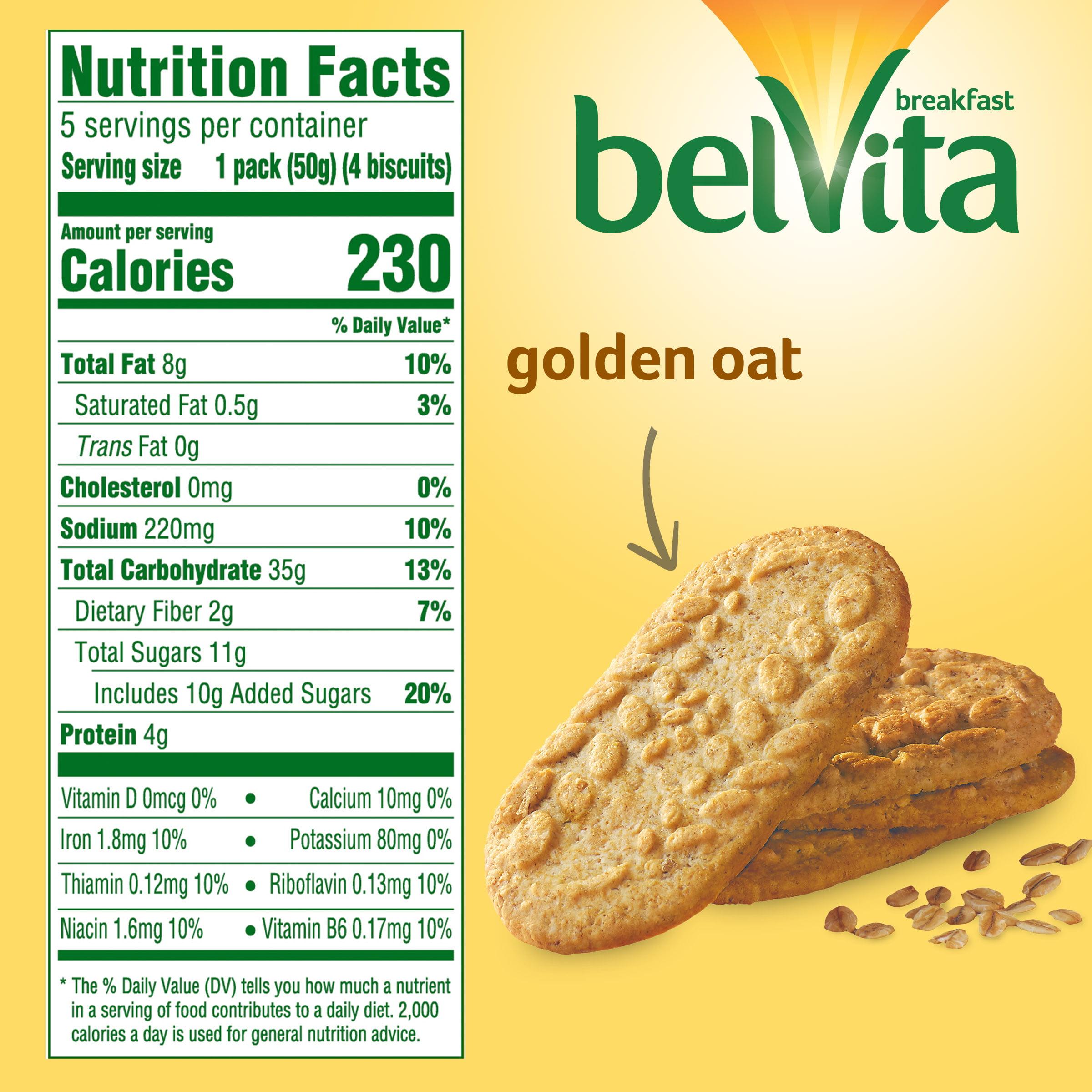 belVita Golden Oat Crunchy Breakfast