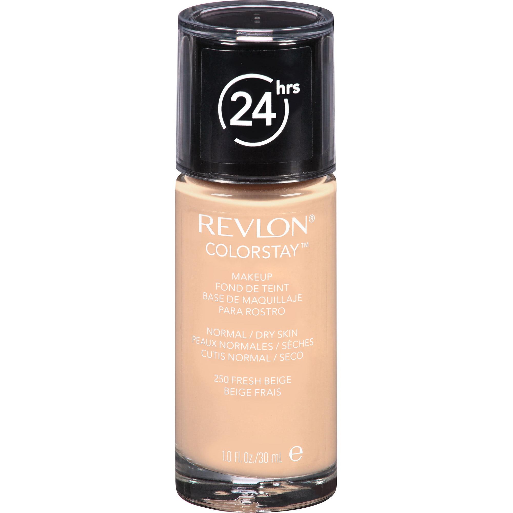Revlon ColorStay Makeup for Normal/Dry Skin, 250 Fresh Beige, 1 fl oz