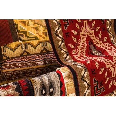Trading Sites (Navajo Rugs, Hubbell Trading Post National Historic Site, Arizona, Usa Print Wall Art By Russ)