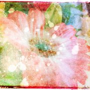 Marmont Hill 'Flower Fairytale' by Jen Lee Painting Print on Wrapped Canvas