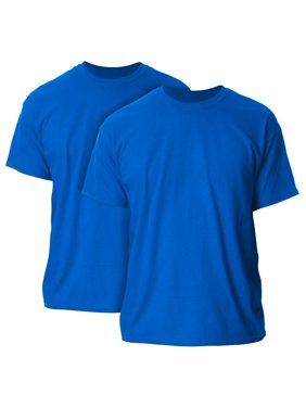 Gildan Mens and Big Mens Ultra Cotton T-Shirt, 2-Pack, up to size 5XL