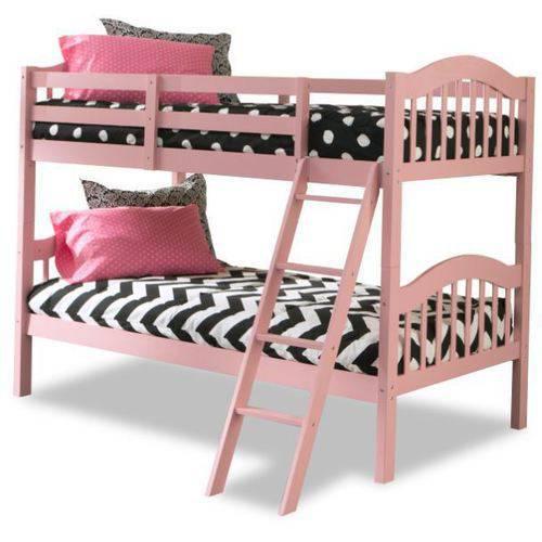 Storkcraft Long Horn Bunk Bed, Pink