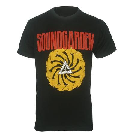 Soundgarden Mens Bad Motor Finger Chris Cornell T Shirt Black