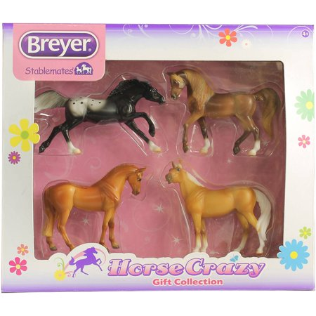 Breyer Stablemates Horse Crazy Gift Collection Four Horse Set (1:32 Scale)