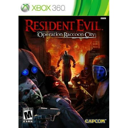 Resident Evil: Operation Raccoon City, Capcom, XBOX 360, (Resident Evil Games In Order Xbox 360)