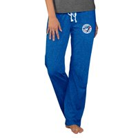 Toronto Blue Jays Concepts Sport Women's Cooperstown Quest Knit Pants - Royal