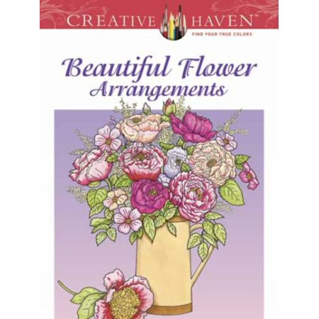 CH BEAUTIFUL FLOWER ARR COLORING BOOK](Spring Flower Coloring Pages)
