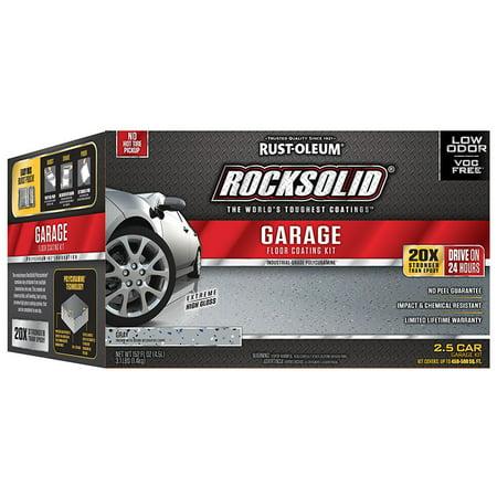 Rust Oleum 293513 Rocksolid Polycuramine Garage Floor