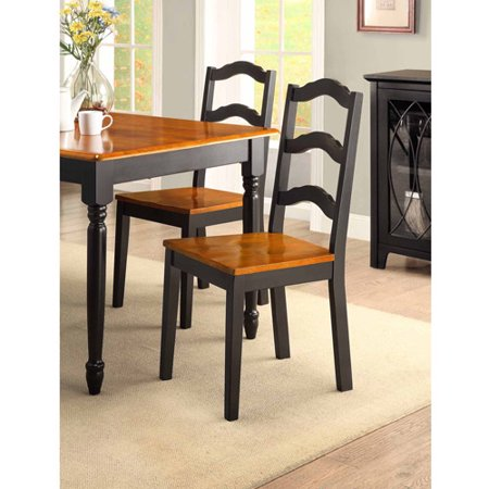 Better Homes And Gardens Autumn Lane 5 Piece Dining Set Black And Oak