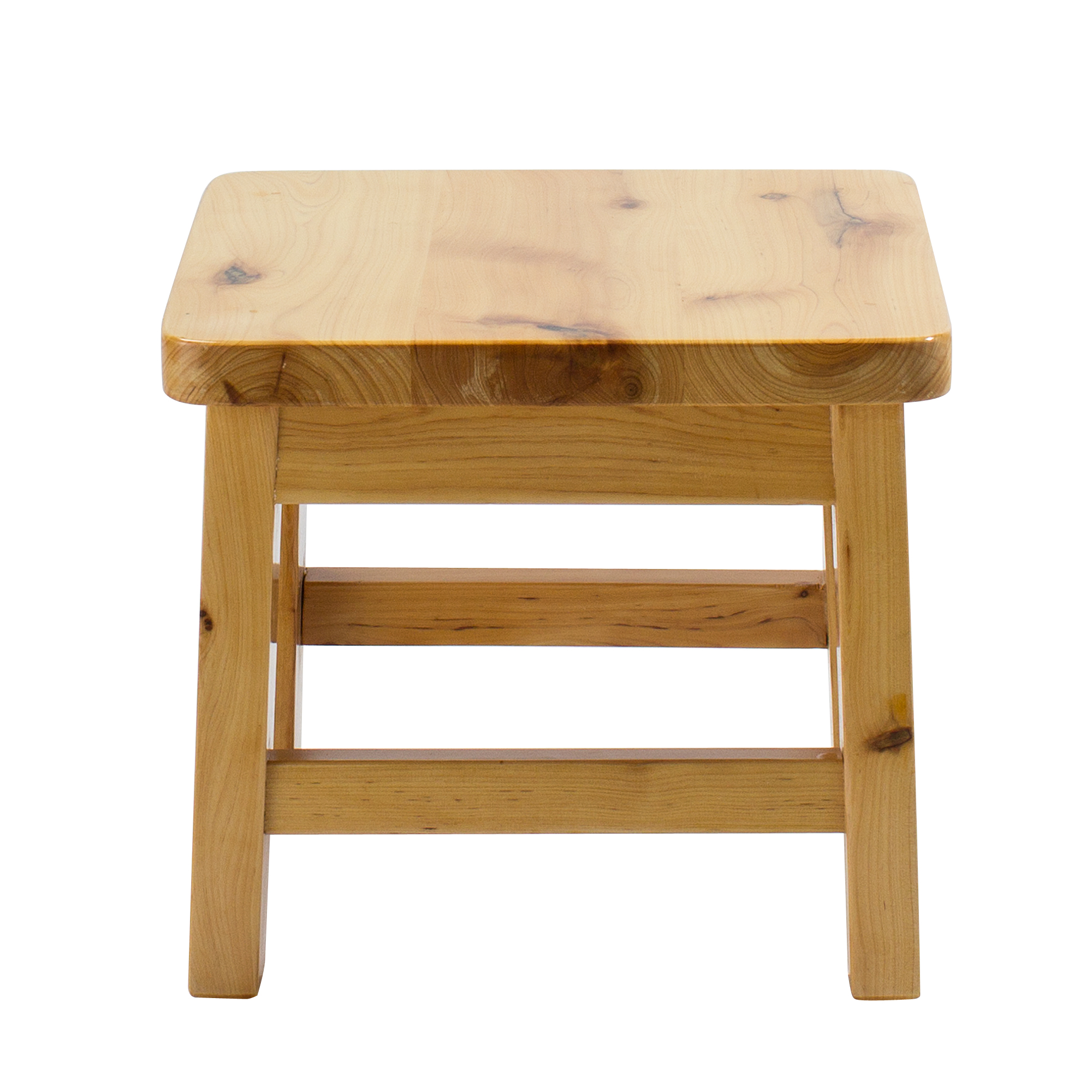 Pleasant Frisby Hardwood Birch Footstool Water Resistant Multipurpose Durable Sturdy Non Slip Surface Wooden Square Step Stool For Adults Children Indoor Spiritservingveterans Wood Chair Design Ideas Spiritservingveteransorg