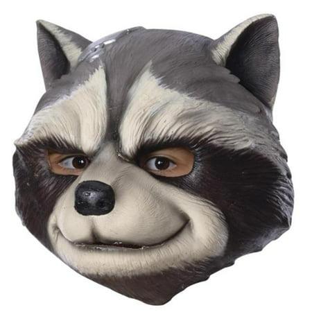 Morris Costumes RU35600 Rocket Racoon Child Mask - Mask Rocky