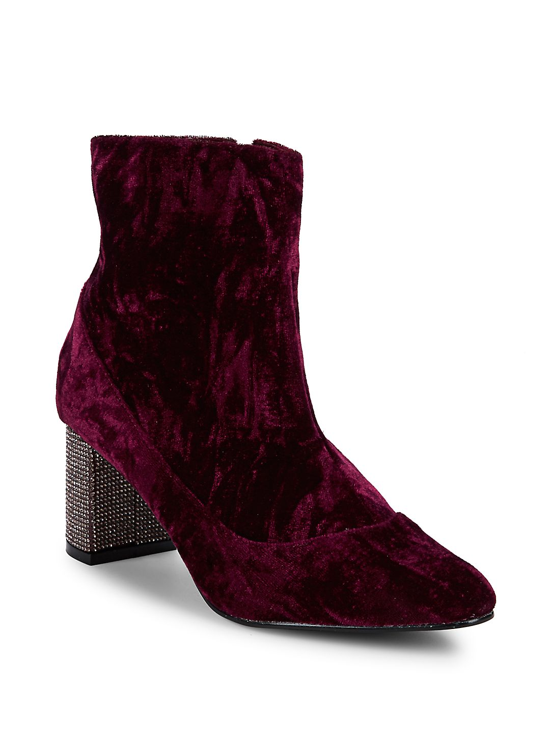Ozanna Embellished Velour Boots