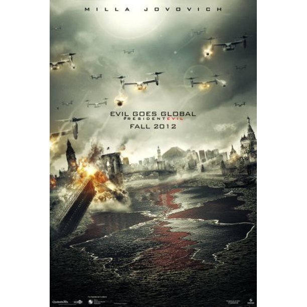 Resident Evil Retribution Movie Poster 16 X24 Medium Poster