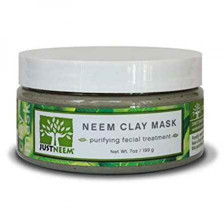 neem clay face mask - best for acne, oily skin, blackheads, all skin types - soothing, purifying & hydrating - natural - 7 oz - Walmart.com