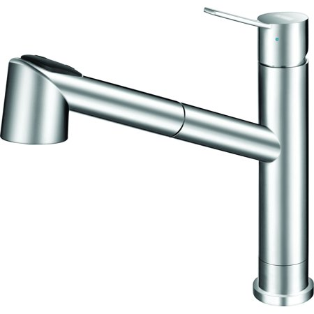 Franke FFPS20550 Bernard Pull-Out Spray Kitchen Faucet - Includes Optional Escutcheon Plate