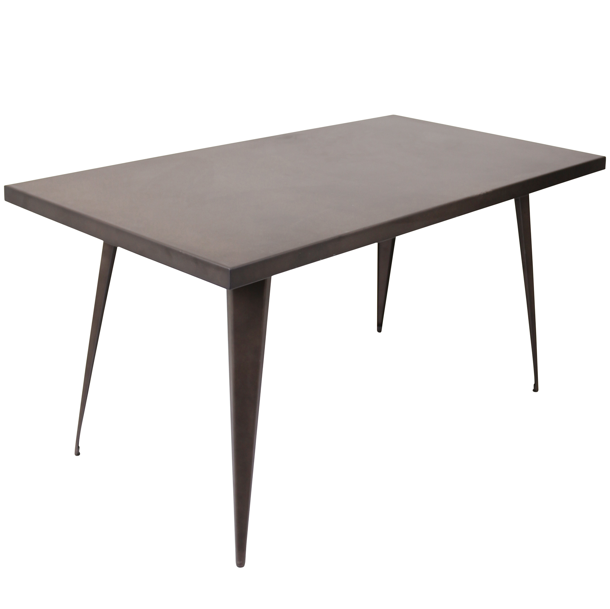 Austin Industrial Dining Table in Antique by Lumisource by LumiSource