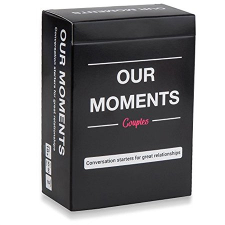 OUR MOMENTS Couples: 100 Thought Provoking Conversation Starters for Great Relationships Fun Conversation Cards Game for Couples](Fun Youth Group Games For Halloween)