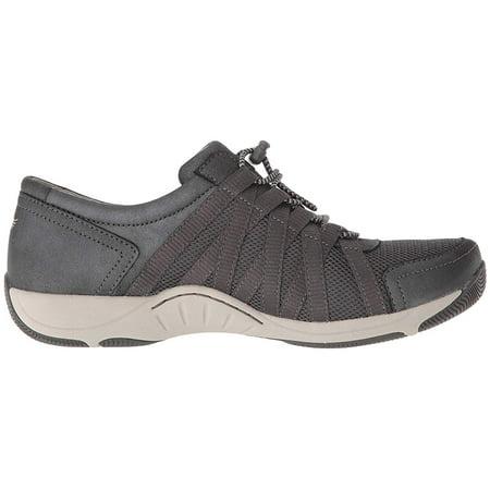 Dansko Honor Charcoal/Metallic Suede Lacoste Infant Shoes