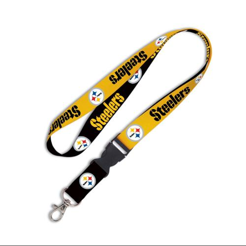 Pittsburgh Steelers Official NFL 20 inch  Lanyard Key Chain Keychain by Wincraft