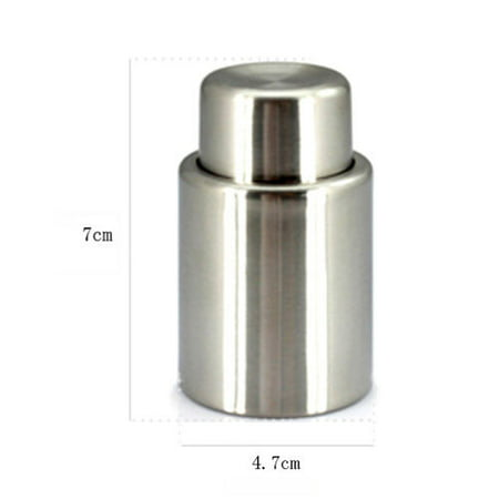 Reusable Stainless Steel Vacuum Seal Wine Bottle/Champagne Bottle (Stainless Steel Wine Bottle Stopper)