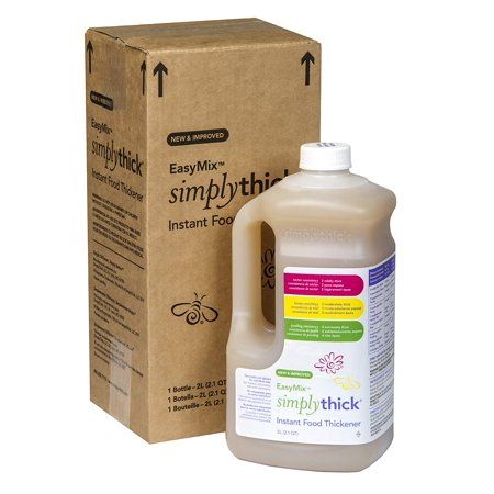 SimplyThick Easy Mix Gel Thickener- 1.6 Liter Bottle with Pump