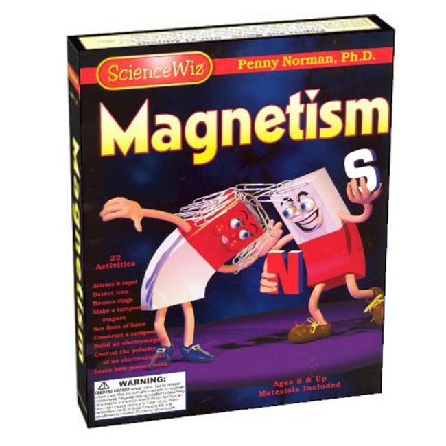 ScienceWiz TSWZ-02 ScienceWiz Magnetism Kit