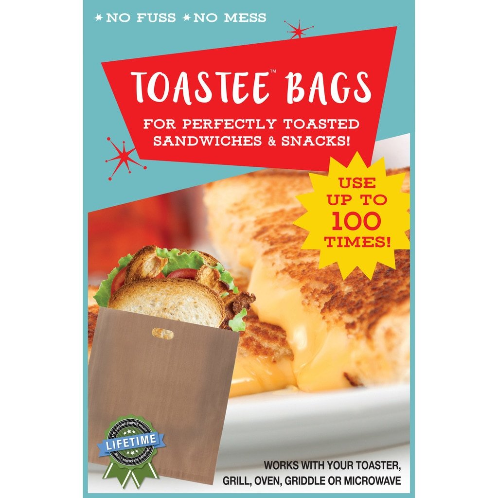 Toastee Bags: Non-Stick Reusable Toaster Bags