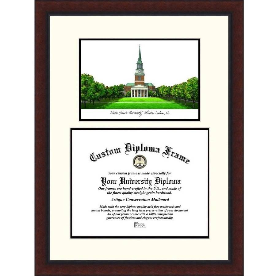 "Wake Forest University 11"" x 14"" Legacy Scholar Diploma Frame"