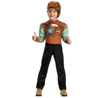 Disney Cars Little Boys Tow Mater Halloween Costume M7-8