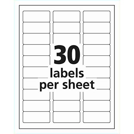Adress Up (iMBAPrice - 100 Sheets 30 up, Easy Peel Address Labels Size 2-5/8